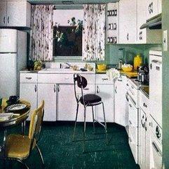 1950s Homes Beautiful Kitchen - Karbonix