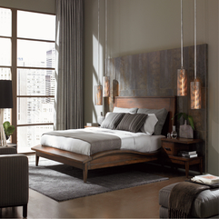 A Brilliant Concept Modern Bedroom Grey Walls - Karbonix