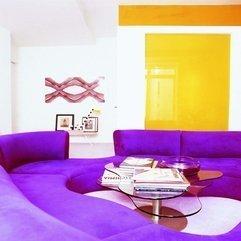 A Brilliant Design Purple Living Room - Karbonix