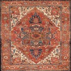 A Large Serapi Carpet Serapi Rug - Karbonix