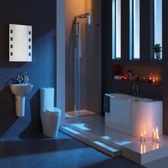 A Warm Modern Bathroom Creating - Karbonix
