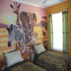 African Safari Decor Kids Bedroom - Karbonix