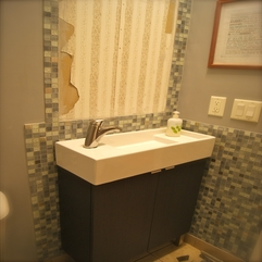 After We Finished The Tile Grout My Hubby Had To Do The Plumbing Classy Style - Karbonix