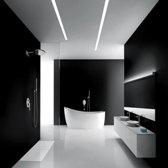 Amazing Black Bathroom Design Ideas - Karbonix