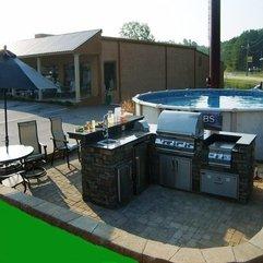 Amazing Design Outdoor Kitchen - Karbonix