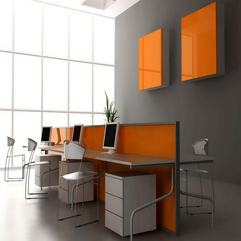 Amazing Furniture Design Orange Computer - Karbonix