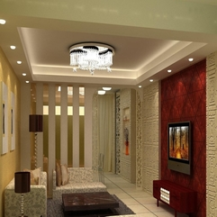 Amazing Modern Chinese Style Red Accent Minimalist Apartment - Karbonix