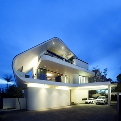 Amazing Modern Tropical House Architecture With Beautiful Lighting - Karbonix