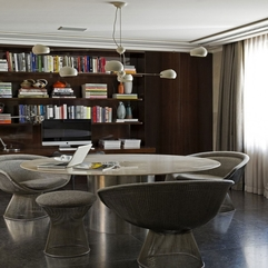 Amazing Modern White Home Library - Karbonix