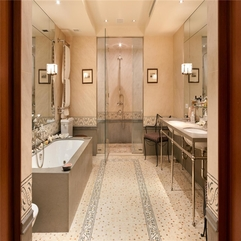 Amazing NYC Duane Street Penthouse Luxury Bathroom Design Details - Karbonix