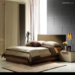 Antique Semi Sharp Bedroom With Simple Color Daily Interior - Karbonix