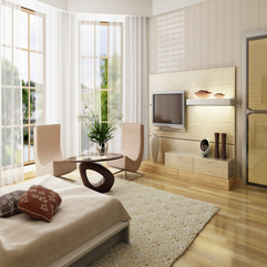 Apartment Appealing Apartment Interior Design With Comfy Bed - Karbonix