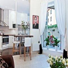 Apartment Design Scandinavian Style - Karbonix