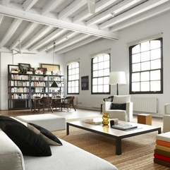 Apartment Hot Industrial Loft In Barcelona With Comfortable White - Karbonix