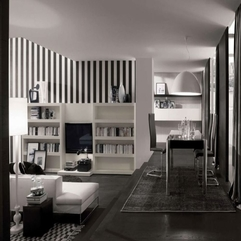 Apartment Living Room Interior With Bright White Sofa - Karbonix