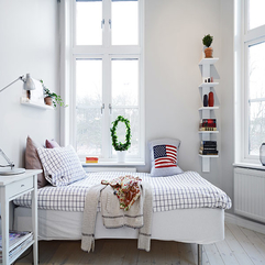 Apartment With Bed Stylish Swedish - Karbonix