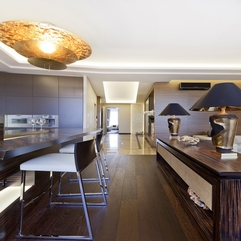 Best Inspirations : Apartments Amazing Modern Kitchen Design In Apartment With Lovely - Karbonix