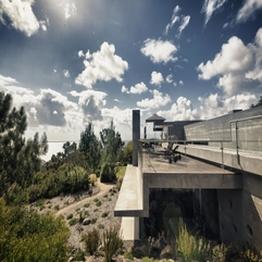 Architecture Awesome Chic Landscape View And Concrete Floor With - Karbonix