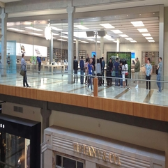 Architecture Modern And Cozy Apple Retail Store Design Cozy - Karbonix