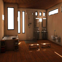 Architecture Modern Bathroom Renovation With Toilet And Bathtub - Karbonix