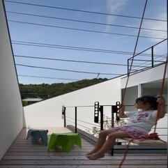 Architecture Sensational Ofuna House Exterior With Wooden Deck - Karbonix
