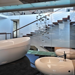 Best Inspirations : Architecture Sensational XV House Interior For Bathroom Design - Karbonix