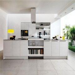 Artistic Designing Briliant Decoration Modern Blue Kitchen Interior - Karbonix