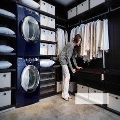 Astonishing Bathroom With Washing Machine - Karbonix
