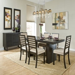 Best Inspirations : Astonishing Modern Dining Room Design Gallery - Karbonix