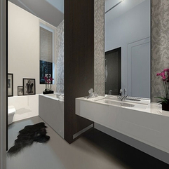 Attractive Design Minimalist Bathroom - Karbonix