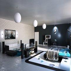 Attractive Design Modern Bedroom Male - Karbonix