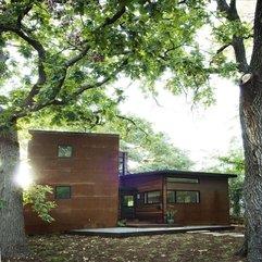 Attractive Minimalist Wood House - Karbonix