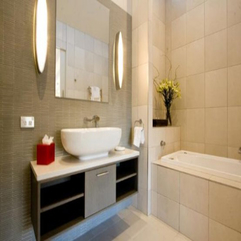 Attractive Modern Apartment Bathroom - Karbonix