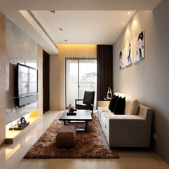 Awesome Minimalist Living Room - Karbonix