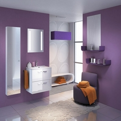 Bath Cabinet Uniquely Small - Karbonix