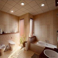 Bath Tub With Warming Light Mosaic Tile - Karbonix