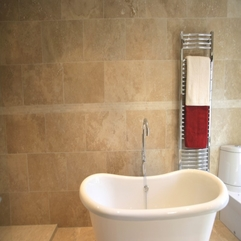 Bathroom Astounding Bathroom Design Ideas With Travertine Tile - Karbonix