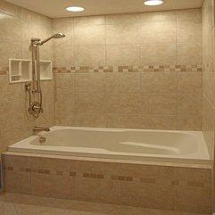 Bathroom Attractive Bathroom Decoration With Light Brown - Karbonix