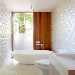 Bathroom Awesome Small Bathroom Design With Creative Wall Design - Karbonix
