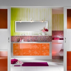 Bathroom Decorating Ideas Colorful Contemporary - Karbonix