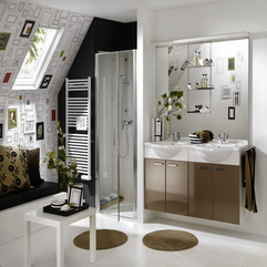 Best Inspirations : Bathroom Design With Brightly Wall Decal Bathroom Design Inspiration Luxurious Modern - Karbonix