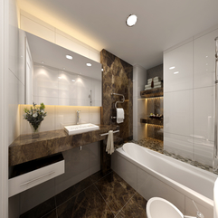 Bathroom Designs With Marble And Corian Luxurious Elegant - Karbonix