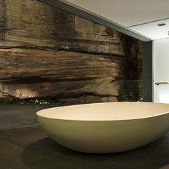 Bathroom Ensuite Bathroom Design With Remarkable Cliff Landscape - Karbonix