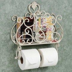 Bathroom Magazine Rack - Karbonix