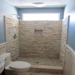 Bathroom Small Bathroom Design With Natural Scheme Bathroom Tile - Karbonix