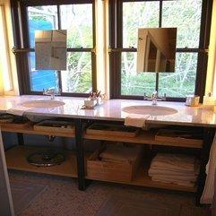 Bathroom Storage White Ceramic - Karbonix