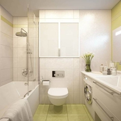 Bathroom Stunning White Small Bathroom Design With White Bathtub - Karbonix