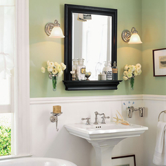 Bathroom With Useful Frame Ideas - Karbonix