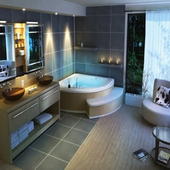 Best Inspirations : Bathrooms Designs Tiny Luxurious - Karbonix