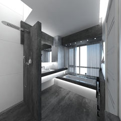 Bathrooms Grey Miraculous Concept - Karbonix